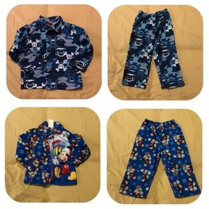 Other - 2 Pajama Sets Boys 3T